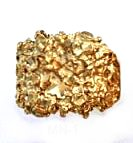 Gold Rush Nugget Ring  MN-1
