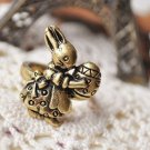 Vintage Easter Rabbit Ring