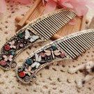 Vintage Pocket-Size Comb (Butterfly)