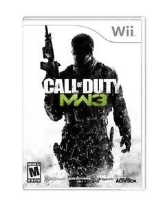 Call of Duty: Modern Warfare 3  (Nintendo Wii, 2011)