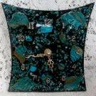Chrysocolla Rock Turqoise Color Vintage Wall Mantel Clock