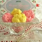 Avon Flower Basket Soap Dish & 5 Hostess Soaps NEW!