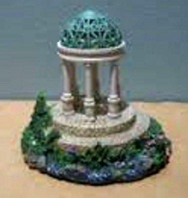 Thomas Kinkade Painter of Light The Garden of Prayer Miniature Gazebo Sculpture