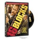 16 Blocks (DVD, 2006, Widescreen)