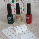 Avon Santa's Shoppe Nail Paints & Stenciles