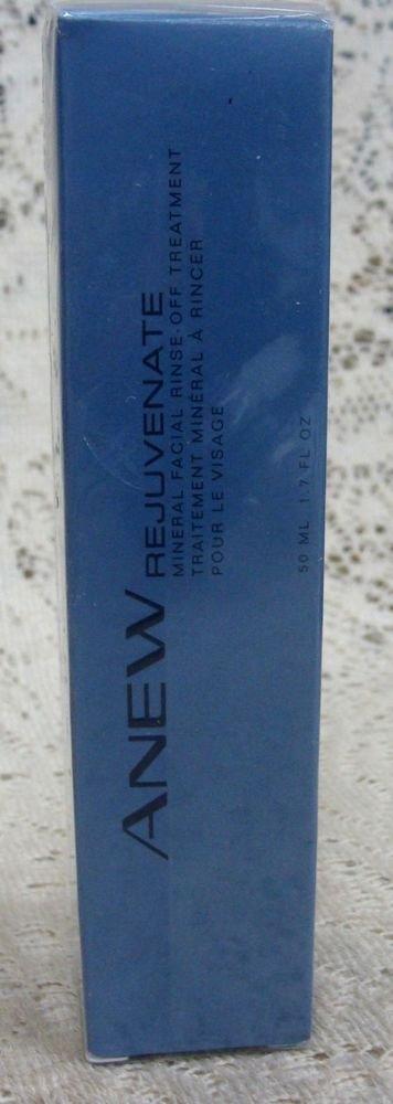 Avon Rejuvenate Mineral Facial Rinse Treatment 1 oz.