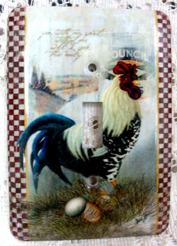 Rooster Light Switch Cover