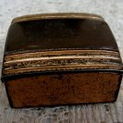 Goldtone Pill Box by McDonald's Vintage