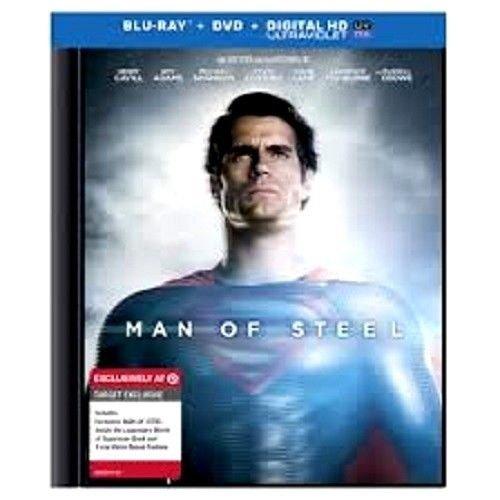 Man of Steel Blu Ray DVD Digital HD Ultraviolet SEALED