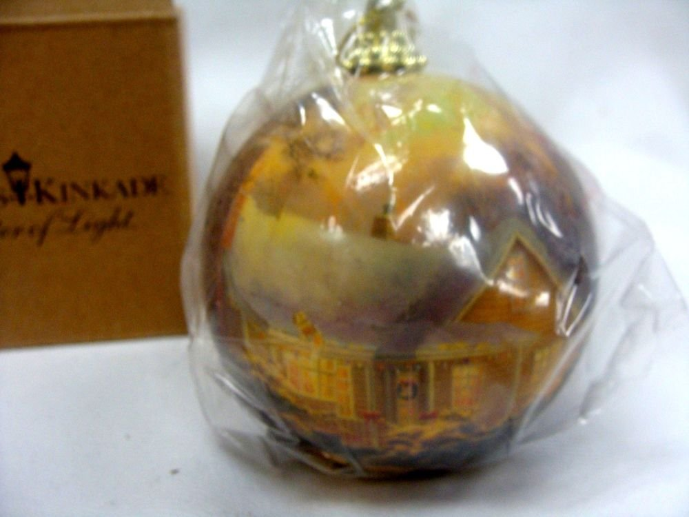 Avon Thomas Kinkade Christmas Cottage Ornament