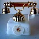 Avon Bird of Paradise Perfume & Foaming Bath Oil French Telephone Decanter