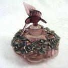 Humingbird Vanity Parfum Perfume Glass Bottle - (NEW)