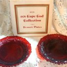 CAPE COD COLLECTION BY AVON set of 2 DESSERT PLATES NIB