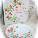 Avon Strawberry Porcelain Plate