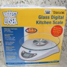 Glass Digital Kitchen Scale The Biggest Loser