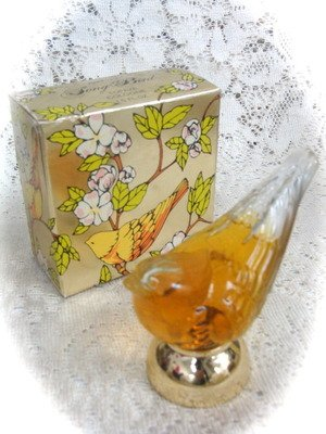 Avon Song Bird  Topaze CologneDecanter 1.5 oz.
