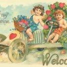 Avon Heart & Diamond  Crystal Dish Valentines  Soap Dish & SoapNet Wt 5 oz.