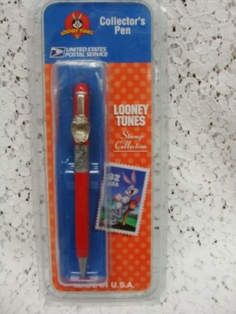 Tasmanian Looney Tunes Collectible USPS Pen - (SEALED)