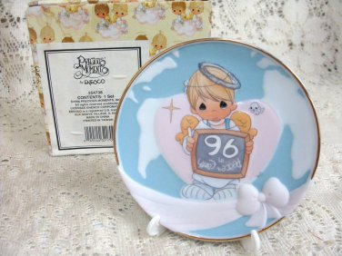 Precious Moments Peace On Earth 1996 Collectors Plate