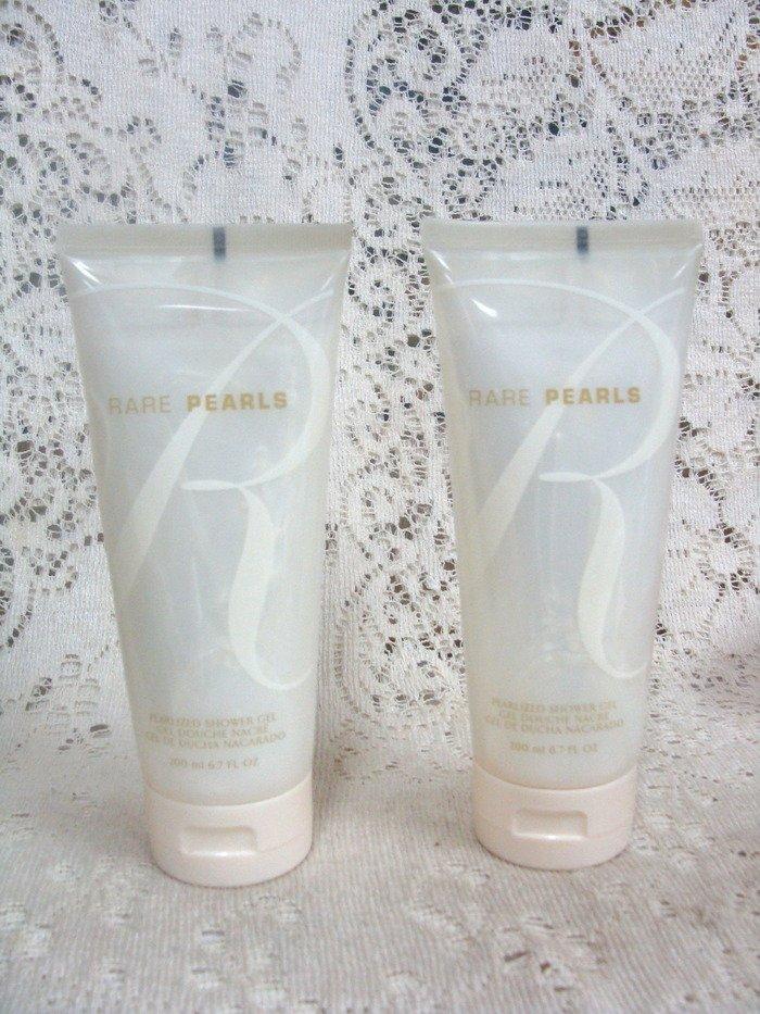 Avon Rare Pearls Shower Gel 6.7 oz. (2) Set