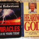 Pat Robertson Hearing God Audio & Signed Book - L@@K!
