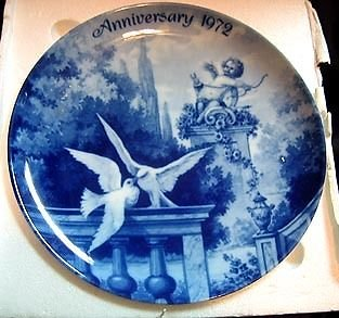 Kaiser Anniversary 1972 Limited German Plate