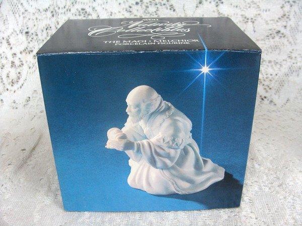Avon Nativity Collectibles  The Magi Melchior Porcelain Figurine