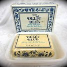Avon Delft Blue Soap Dish & Skin-So-Soft Soap