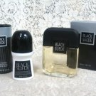 Avon Black Suede After Shave, Talc, & Roll-on Anti-Perspirant Set