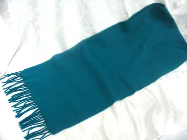 Christian Dior Turquoise Scarf