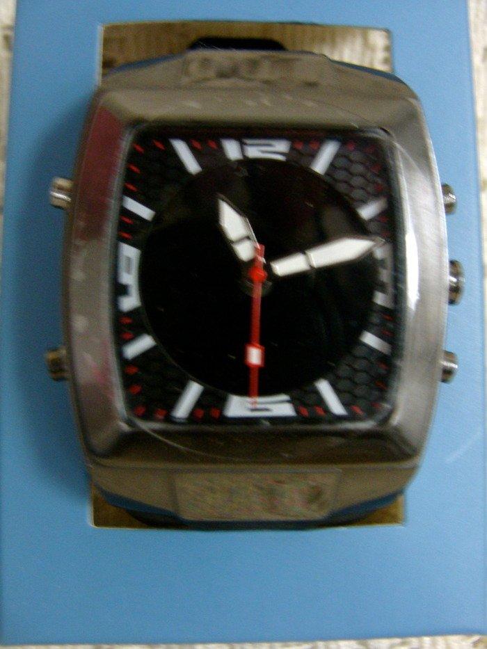 Avon Men's Sporty Analog Digital Strap Black Watch