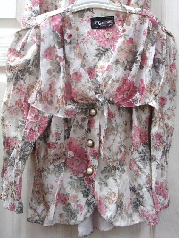 Floral 2-pc Summer Outfit  Skirt & Top Size 10