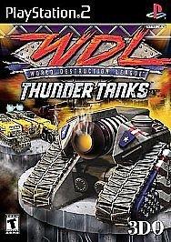 World Destruction League: Thunder Tanks  (Sony PlayS...