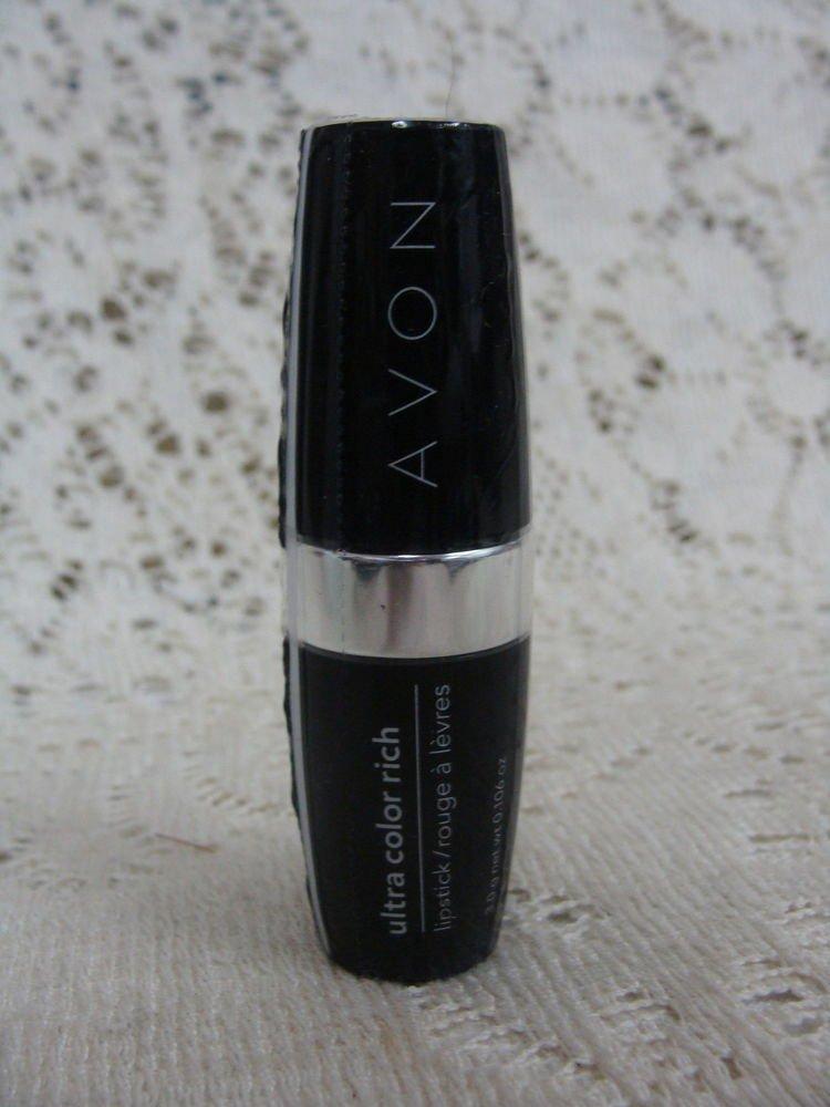 Avon Ultra Rich Sparkling Rich Ruby Lipstick - (NEW)
