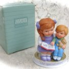 "Avon Tender Memories   Porcelain Figurine""Our Special Story"""
