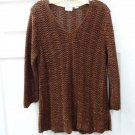 Covington Ladies Womens Brown Knited Top Size M