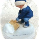 "Avon Good Housekeeping  1986 ""A Winter Snow""Porcelain Figurine"