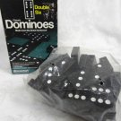 PRESSMAN DOMINOES DOUBLE SIX HARDWOOD 28 PCS - (vintage)