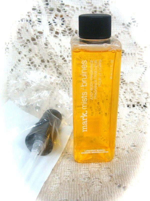 Mark Mist Juicy Fragrance  Luscious Mango Spray 3.2 oz.