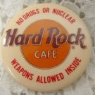 L@@K! HARD ROCK CAFE COLLECTIBLE BUTTON PIN PENDANT