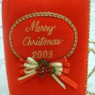 Merry Christmas Ornament   Picture Book 2003