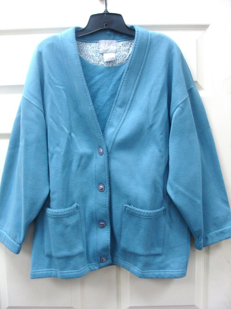 Womens Ladies Light Blue Blair Sweather Size Large
