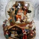 Kirkland Large Musical Waterglobe w/ Revolving Base Christmas Nativity