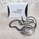 Outspoken Fergie Solid Parfum Heart Necklace (NEW)
