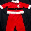 Santa Clause Infant Baby 3 months Outfit Set