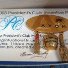 Avon PC 2003 Incentive Goldtone Pin Brooch
