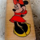 Disney Shy Minnie Mouse Rubber Stamp