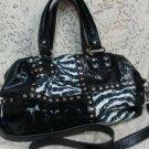 Kathy Van Zeeland Black Womens Ladies Handbag Shoulder Purse