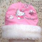 Girls Pink Hello Kitty Hat