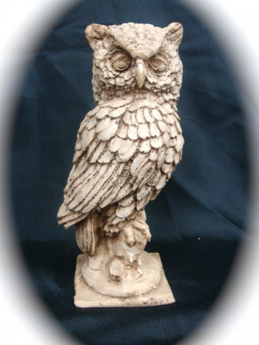 Owl Sculpture Medium 2 pds.